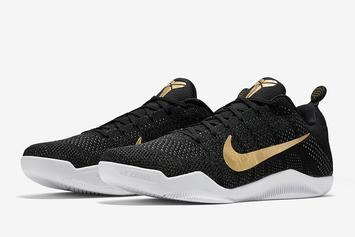 "Nike Unveils Official Images Of The ""Great Career Recall"" Kobe 11"