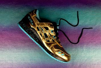 "Official Images Of Wale's ""Intercontinental Champion"" Asics Collab Revealed"