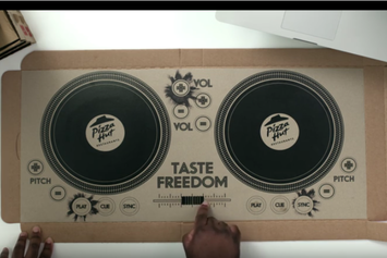 Pizza Hut Introduces The World's First DJ Pizza Box
