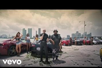 "Pitbull Feat. Flo Rida & LunchMoney Lewis ""Greenlight"" Video"