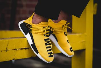 """The Yellow """"Human Race"""" Pharrell x Adidas NMD Will Be Releasing Again This Week"""