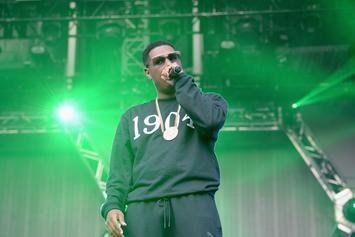 "Jay Electronica Calls For Fans To ""Collapse"" Stage At Made In America Festival"