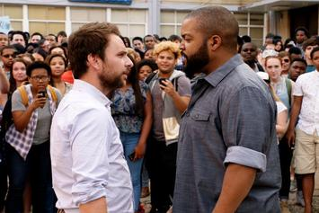 "Ice Cube Squares Up With Charlie Day In New Comedy ""Fist Fight"""