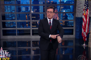 Stephen Colbert Roasts Last Night's Presidential Debate