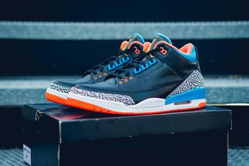 Russell Westbrook's OKC Air Jordan 3 PE Revealed In Detail
