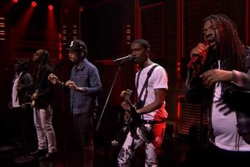 "Chance The Rapper Performs ""Blessings"" With Ty Dolla $ign, D.R.A.M, Anthony Hamilton & Raury Live On Jimmy Fallon"