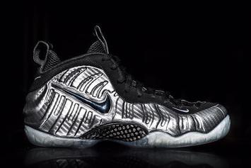 """Our Best Look At The New """"Silver Surfer"""" Foamposite Pro"""