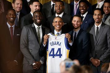 President Obama Makes His NBA Finals And Super Bowl Predictions
