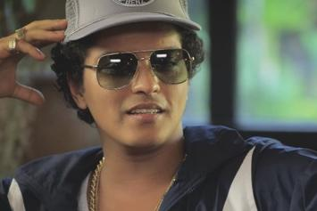 "Watch Bruno Mars Talk ""24K Magic"" With Zane Lowe"