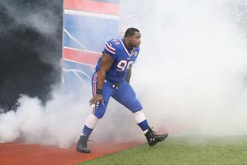 "Bills' Marcell Dareus Says Instagram Was Hacked, Didn't Post ""F*ck The Bills I Love Weed"""