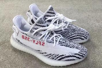 """""""White/Black"""" Adidas Yeezy 350 V2 Reportedly Releasing In 2017"""