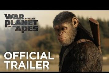"Watch The Intense First Full Trailer For ""War For The Planet Of The Apes"""