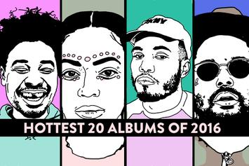 Hottest 20 Albums Of 2016