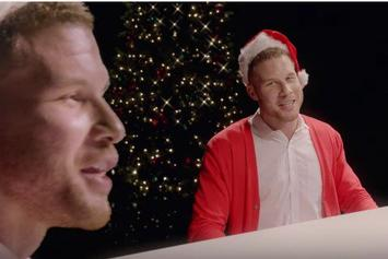 """NBA Stars Sing """"The Most Dunktastic Time Of The Year"""""""
