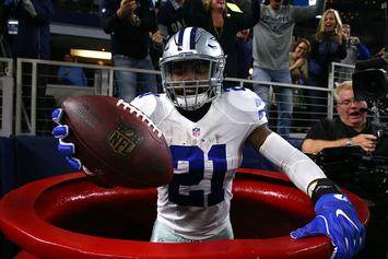 NFL Won't Fine Ezekiel Elliott For His Salvation Army Touchdown Celebration