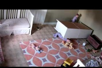 Two-Year-Old Boy Saves Twin Brother From Underneath Fallen Dresser