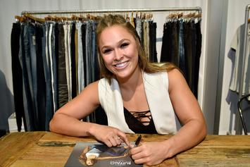 Ronda Rousey's Home Was Vandalized
