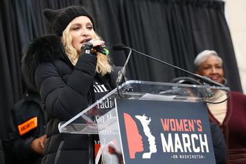 "Madonna Tells Donald Trump To ""Suck A Dick"" At D.C. Women's March"