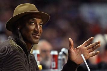 "Scottie Pippen Almost Slaps Paparazzi When They Ask Him ""Where's Future?"""