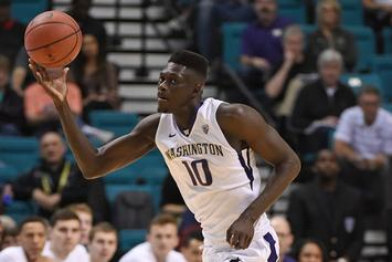 University Of Washington Player Malik Dime Smacks Fans For Heckling Him
