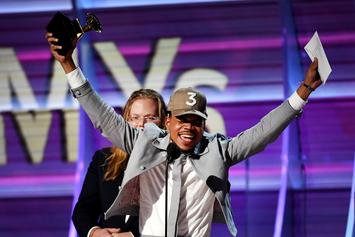 "Chance The Rapper Wins Grammy For ""Best Rap Album"""