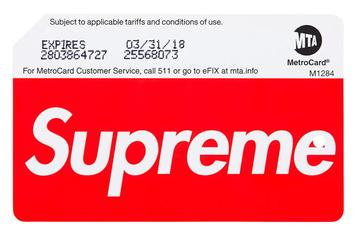 Supreme MetroCards Caused Madness In The New York City Subway Yesterday
