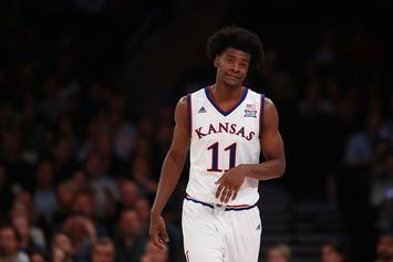Kansas Jayhawsk Star Josh Jackson Suspended For Big 12 Tournament Opener