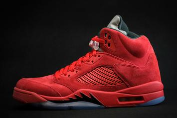 """Red Suede"" Air Jordan 5s Confirmed For This Summer"