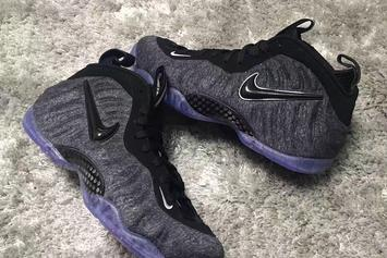 """Tech Fleece"" Nike Air Foamposite Pro Release Details Announced"