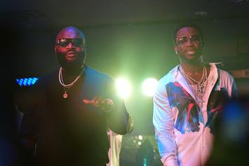 Rick Ross & Gucci Mane Are Filming A Movie Together