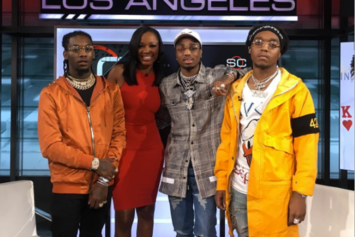 "Migos Talk About ""Bad & Boujee"", Dabbing, Sports, & More On ESPN's SportCenter"