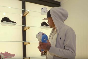 """Watch Allen Iverson Go """"Sneaker Shopping"""" At Lapstone & Hammer In Philly"""