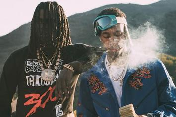 "Tyga & Chief Keef Stunt With Bad Chicks On ""100s"" Music Video Set"