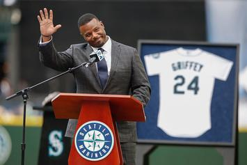 Ken Griffey Jr. Immortalized By Seattle Mariners With Bronze Statue