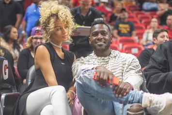 Antonio Brown's Pregnant Baby Mama Not Happy That He's Dating IG Model Jena Frumes