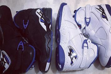 "Drake Is Giving Away The Air Jordan 8 ""Calipari Pack"" On Instagram"
