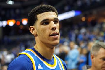 "Lonzo Ball Raps Over Drake's ""Free Smoke"""