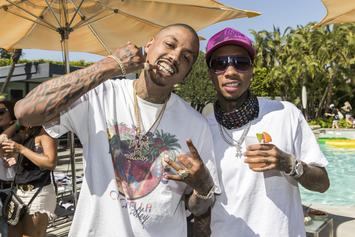 Tyga Poses With Fans During Trip To Japan