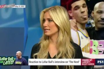 "Kristine Leahy Responds To LaVar Ball's Comments On ""The Herd With Colin Cowherd"""