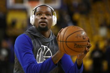 "Stephen A. Smith: ""Kevin Durant Has Gotten More Arrogant, More Disrespectful"""