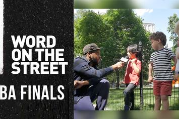 NBA Finals '17: Father Gabriel & New Yorkers Chime In (Word on the Street)