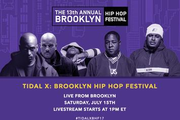 Livestream The Brooklyn Hip Hop Festival With Tidal
