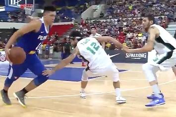 Basketball Player Literally Breaks Defenders Ankle With Crossover