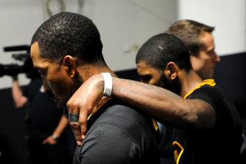 Kyrie Irving Unfollows LeBron James On Instagram, Heightens Offseason Drama