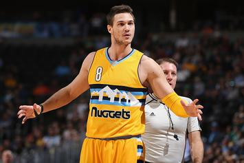 Danilo Gallinari Injures Hand Punching Opponent In The Face