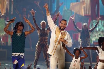 """French Montana & Swae Lee Perform """"Unforgettable"""" On Jimmy Fallon"""