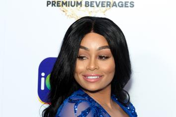 Blac Chyna Reportedly In The Studio