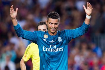 Real Madrid's Cristiano Ronaldo Suspended For Shoving Ref