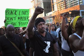 Nick Cannon Joins Protestors in St. Louis After Police Shooting Verdict