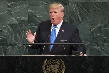 "Donald Trump's UN Speech Takes Aim At ""Rocket Man"" Kim Jong Un"